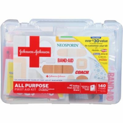 Johnson & Johnson All Purpose First Aid Kit (Pack of 2)