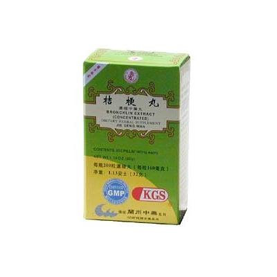 BRONCKLIN EXTRACT (JU GENG WAN)160mg X 200 pills per bottle