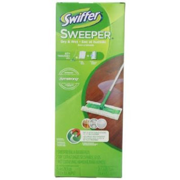Swiffer Sweeper 2 In 1 Mop And Broom Floor Cleaner Starter Kit, Pack of 2