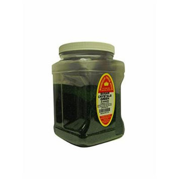 Marshalls Creek Spices Family Size Sugar Crystals, Green, 40 Ounce