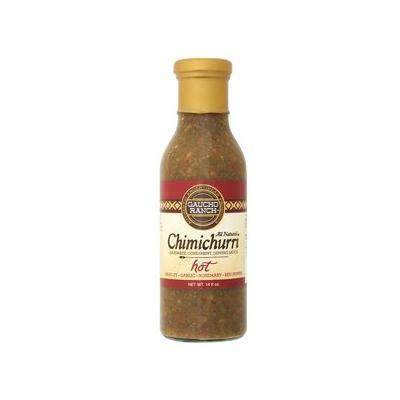 Gaucho Ranch Chimichurri Hot 12.5 OZ (Pack of 2)