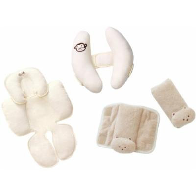 Summer Infant Snuzzler with Cradler Head Support & CushyStrap Strap Covers, Tan