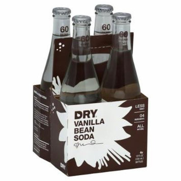 Dry Soda Vanilla Bean (Pack of 6) - Pack Of 6