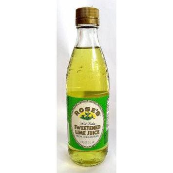 Rose's West Indian Sweetened Lime Juice 12 Fl Oz
