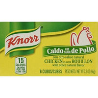 Knorr Chicken Bouillon Cubes, 2.3-Ounce Boxes (Pack of 24)
