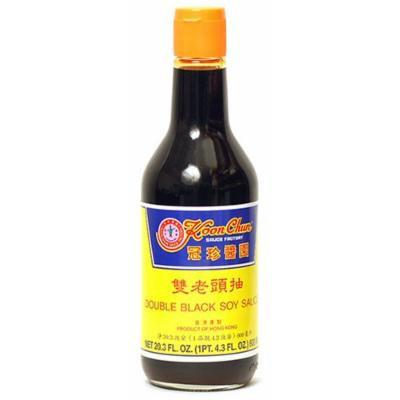 Koon Chun Double Black Soy Sauce, 20.3-Ounce Bottle (Pack of 2)