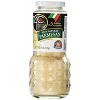 4C Grated Cheese 100% Natural Parmesan Cheese 6 oz. (Pack of 1)