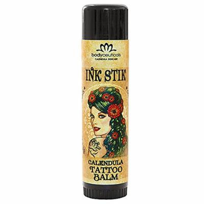 BodyCeuticals Ink Stik Calendula Tattoo Balm, 0.5 Ounce