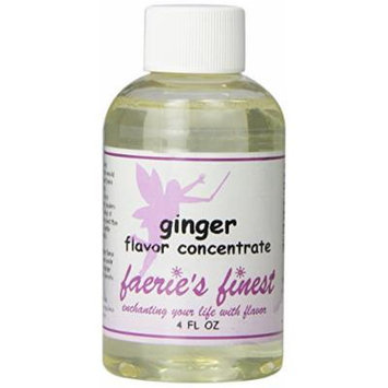 Faeries Finest Flavor Drops, Ginger, 4.0 Ounce
