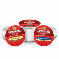 COMMUNITY COFFEE VARIETY, 36 K CUPS; 12 DARK ROAST, 12 BREAKFAST BLEND AND 12 CAFE SPECIAL