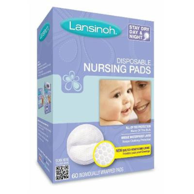 Lansinoh 20265 Disposable Nursing Pads Jumbo Size Package, Pack of 8 (60 Each)
