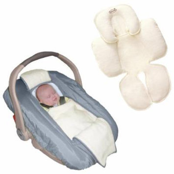 Jolly Jumper Arctic Car Seat Cover with Snuzzler Body Support, Gray