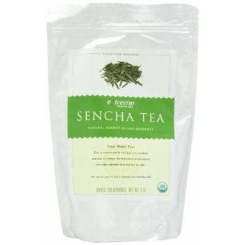 Extreme Health USA Extreme Health's Organic Sencha Tea, Total Health Loose Leaf Tea, 8-Ounce Pouches