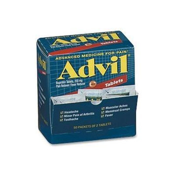 Advil Pain Reliever Refills, 50/2Packs