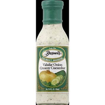 Braswells Dressing, Gourmet, Vidalia Onion Creamy Cucumber