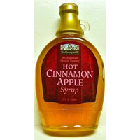Hot Cinnamon Apple Syrup (Contains SUGAR) 12 oz Bottle, Blackberry Patch