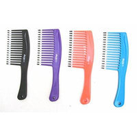 Mebco High Volume Comb HV1 Black, Comb through your hair, Smooths your hair, Hair detangler, For thick, coarse and thin hair, For all hair types, Hair care, Shower