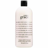 Philosophy Summer Grace Shampoo, Bath & Shower Gel 32 Fl. Oz Jumbo Size