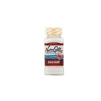 NutraSalt Low Sodium Sea Salt, 5.5-Ounce Containers (Pack of 3)