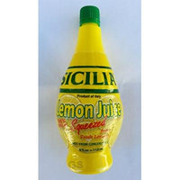 Sicilia Lemon Juice - 4 Oz (2 Pack)