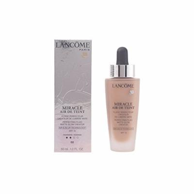 Lancome Miracle Air De Teint Perfecting Fluid Matte Glow Creator SPF 15, No. 02 Lys Rose, 1 Ounce