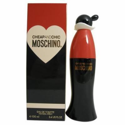 Cheap & Chic By Moschino For Women. Eau De Toilette Spray 3.4 Oz.