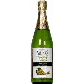Meier's White Sparkling Grape Juice 25.4 FO (Case of 12)