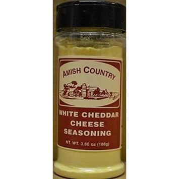 Amish Country Popcorn White Cheddar Cheese Seasoning 3.80 Oz Shaker