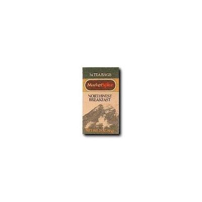 MarketSpice Tea Bag, Northwest Breakfast, 24 Count