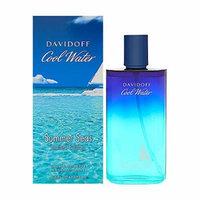 Davidoff Cool Water Summer Seas Limited Edition Eau De Toilette Spray for Men, 4.2 Fluid Ounce