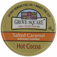Grove Square Hot Cocoa, Salted Cramel Hot Chocolate, 24 Count Single Serve Cup for Keurig K-cup Brewers