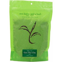 Two Leaves and a Bud Organic Gen Mai Cha Green Tea, 8 Ounce Package