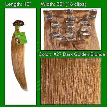 #27 Dark Golden Blonde - 10 inch