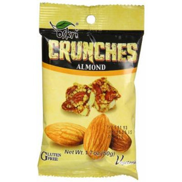 Oskri Crunch Snack, Almond, 1.7 Ounce (Pack of 10)
