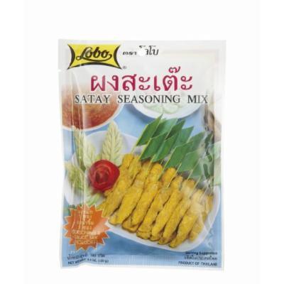 Lobo ,Satay Seasoning Mix Paste - 3.52 Ounces (Pack of 6)