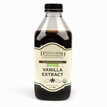 Organic Bourbon Vanilla Extract, 32 Oz