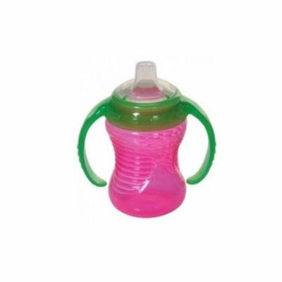 Munchkin Mighty Grip Trainer Cup, 8 Ounce, Pink