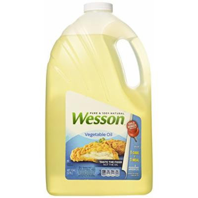 Wesson 100% Pure Vegetable Oil, 128 oz