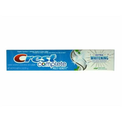 Crest Complete Extra Whitening With Tartar Protection Toothpaste - Clean Mint 6.2oz (Pack of 3)