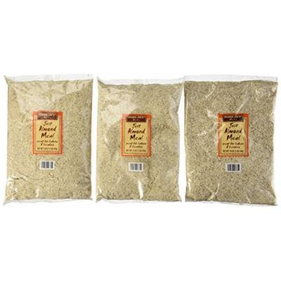 Trader Joe's Just Almond Meal, 1 Lb Bag (Pack of 3)