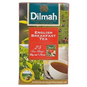 Dilmah English Breakfast Tea 50g. 25pcs.