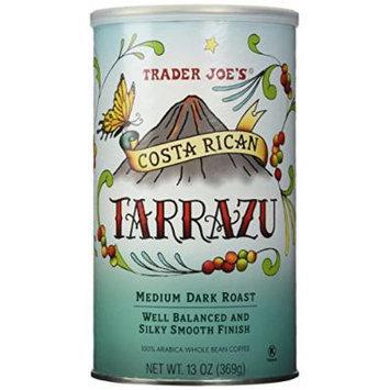 Trader Joe's Costa Rican Tarrazu 100% Arabica Roasted Whole Bean Coffee (13 Oz.)
