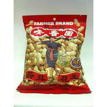 Garlic Flavor Roasted Peanuts 10.58z