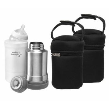 Tommee Tippee Closer to Nature Travel Bottle & Food Warmer with Insulated Bottle Bags