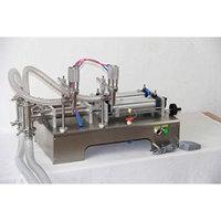300ml two nozzles pneumatic liquid filling machine for liquid juice filler