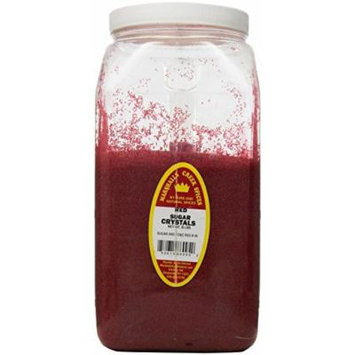 Marshalls Creek Spices Sugar Crystals, Red, XX-Large, 8 Pound