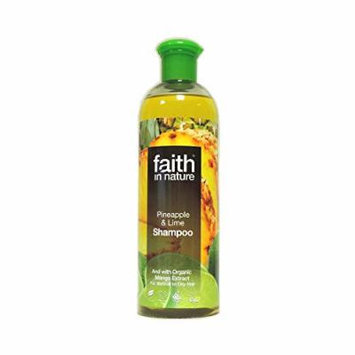 Faith in Nature - Pineapple & Lime Shampoo - 400ml (Case of 6)