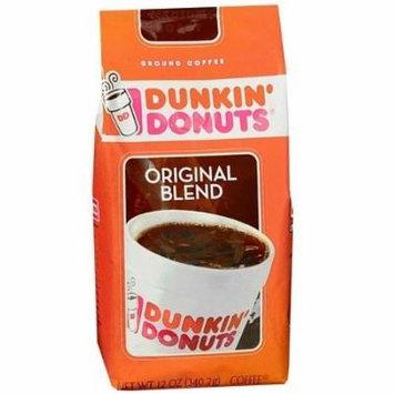 Dunkin' Donuts Medium Roast Ground Coffee 12 Ounces