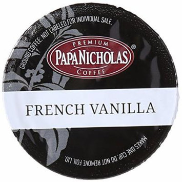 PapaNicholas Coffee Single Serve Coffee Cups Fits Keurig K Cup Brewers, French Vanilla, 12 Count