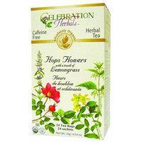 Celebration Herbals Organic Hops Flowers Caffeine Free Herbal Tea Bags